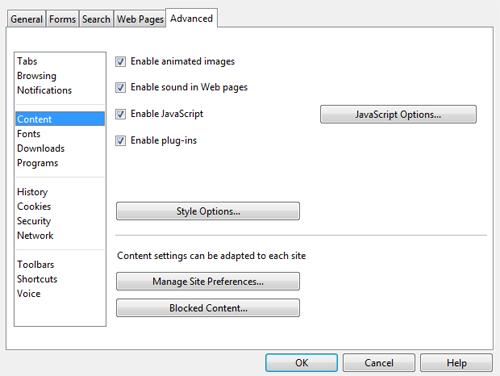 Turn on javascript opera 10x step 2 aktivate javascript opera 10x on mac os 10x step 2 how to activate ccuart Gallery